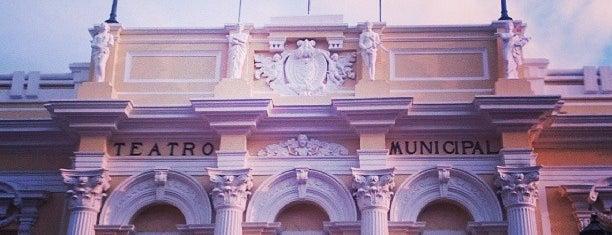 Teatro Municipal Enrique Buenaventura is one of Posti che sono piaciuti a Lulu.