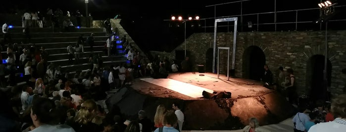 Andros open Theater is one of Lugares guardados de Ifigenia.
