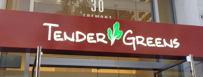 Tender Greens is one of FiDi/SOMA Lunch Options.