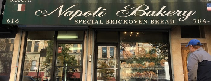 Napoli Bakery is one of Italian-American Spots.