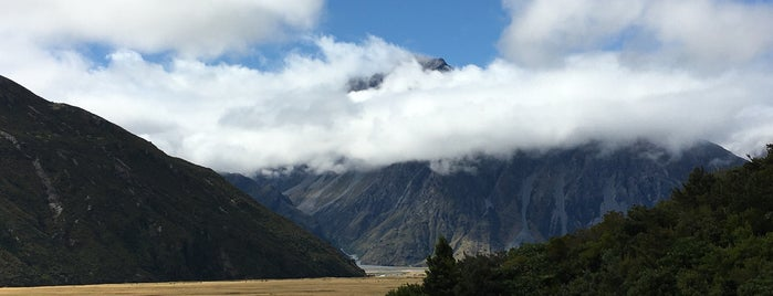 Aoraki/Mount Cook National Park is one of SI Roadtrip.