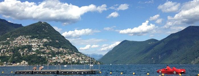 Lido Riva Caccia is one of Posti che sono piaciuti a Amit.