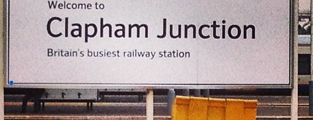 Clapham Junction Railway Station (CLJ) is one of Spring Famous London Story.