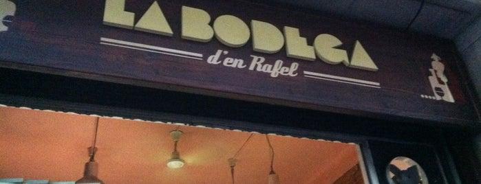 La Bodega d'en Rafel is one of Bodegas de Barcelona.