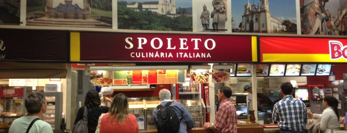 Spoleto Culinária Italiana is one of Restaurantes.