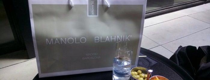 Manolo Blahnik is one of Live Stile Barcelona.