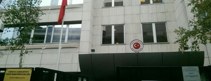 Consulat Général de Turquie is one of Place to Visit.