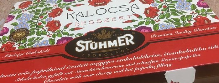 Stühmer Csokibolt is one of csoko-csokoládé.