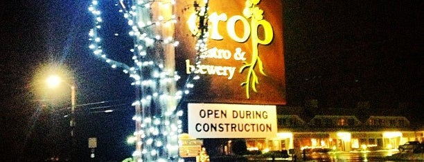 Crop Bistro & Brewery is one of My must visit brewery list.
