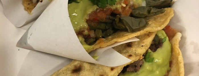 Los Tacos No. 1 is one of NYC Good Eats.