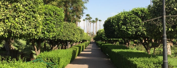 Lalla Hasna Park is one of Marrakech.