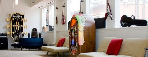 Gibson Guitar Showroom DC is one of Broads guide to D.C..