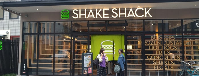 Shake Shack is one of Kyoto.