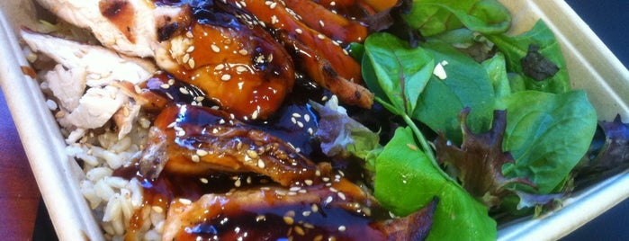 Glaze Teriyaki is one of Ланч в НЙ.
