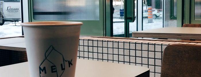 MELK Bar à Café is one of Fermés.