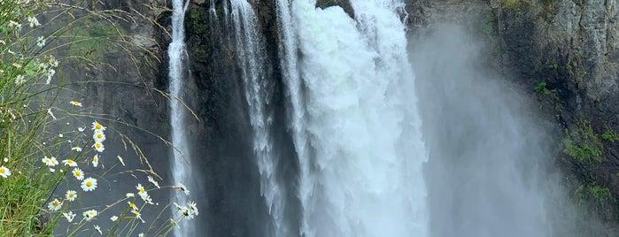 Snoqualmie Falls Hiking Trail is one of Posti che sono piaciuti a Alberto J S.