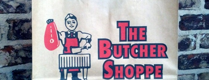 Butcher Shoppe is one of Orte, die Kelley gefallen.
