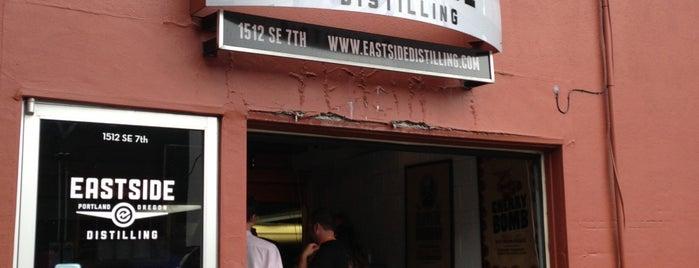 Eastside Distilling is one of Distillery Row - PDX.