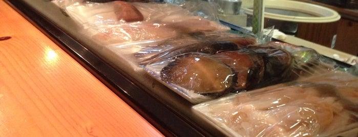 Sushi Dokoro Shirahama is one of Kimberlyさんのお気に入りスポット.