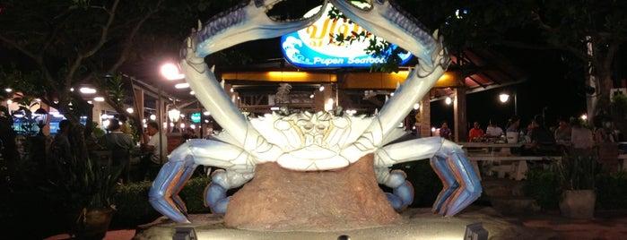 Pupen Seafood is one of Locais curtidos por Arbuzova.