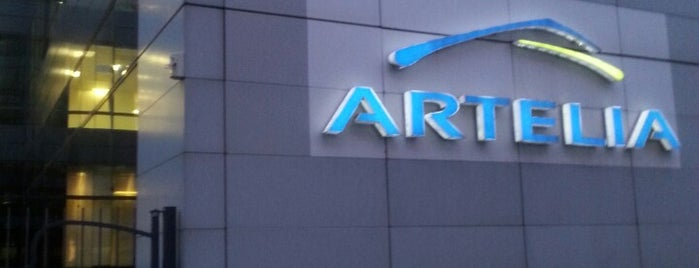 Artelia is one of R : понравившиеся места.