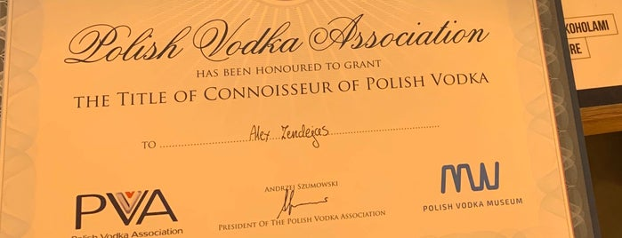 Polish Vodka Museum is one of Joãoさんのお気に入りスポット.