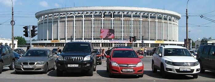 Парковка у СКК «Петербургский» is one of concert venues 2 live music.