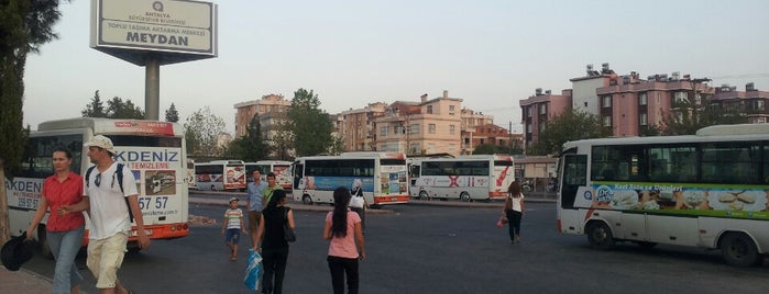 Meydan Aktarma Merkezi is one of Gittiğim ve gideceğim yerler.