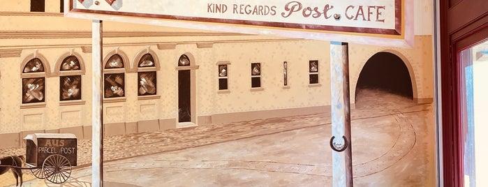Post Cafe is one of Posti che sono piaciuti a Ken.