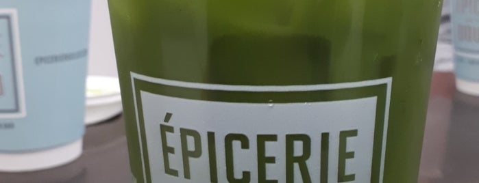 Èpicerie Boulud is one of Tempat yang Disukai David.