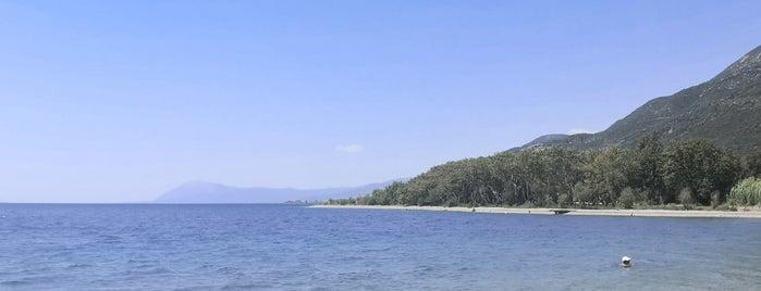 Sergoula Beach is one of Lugares favoritos de maria.