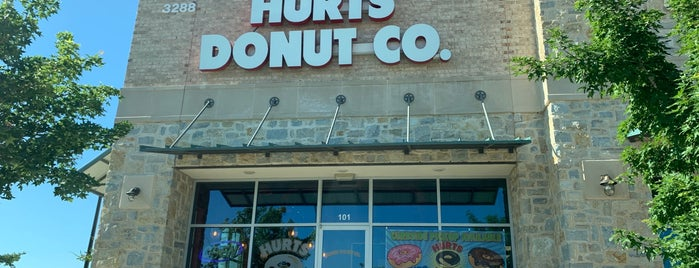 Hurts Donut is one of Orte, die Beni gefallen.
