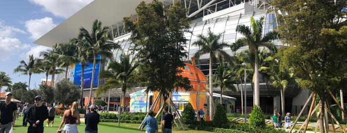 Miami Open Tennis 🎾 @Hard Rock Stadium 🏈 is one of Orte, die Beni gefallen.