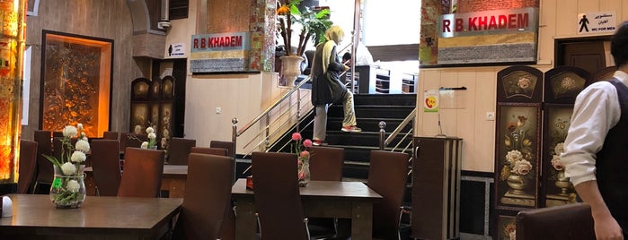 Khadem Restaurant | رستوران بزرگ خادم is one of Gespeicherte Orte von Travelsbymary.