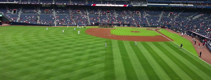 Turner Field is one of MLB Stadium.