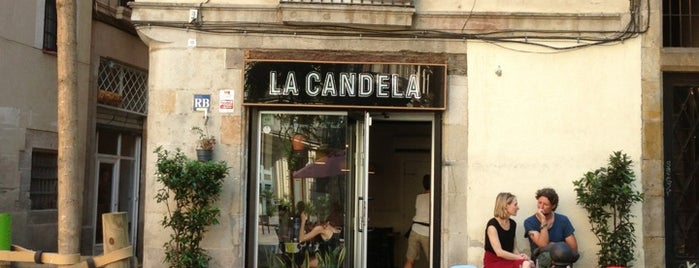 La Candela is one of Breakfast and nice cafes in Barcelona.