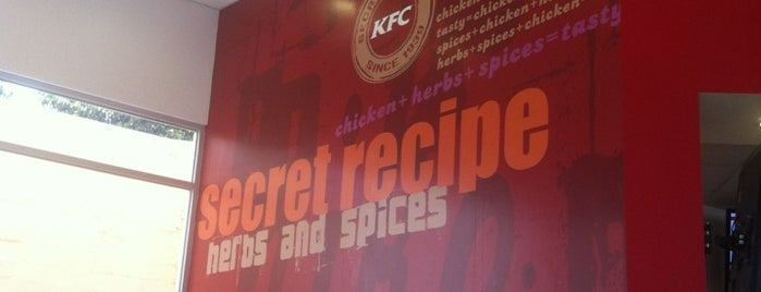KFC is one of Comida!.