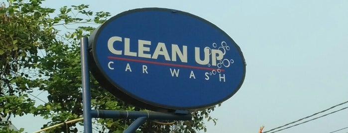 Clean Up Car Wash is one of Lugares favoritos de Ronald.