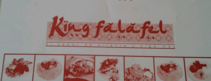 King Falafel is one of Lugares guardados de Osiris.