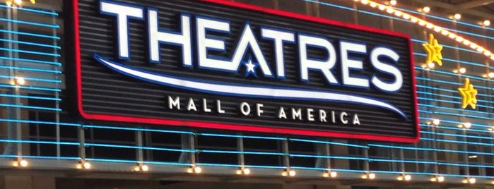 Theatres at Mall of America is one of A Collection of MN.