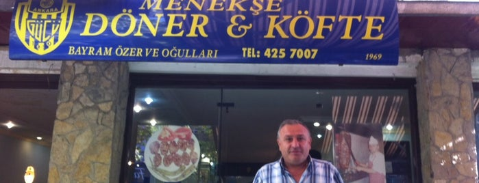 Menekşe Döner & Köfte is one of Ankara.