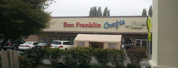Ben Franklin Crafts and Frames is one of Solly 님이 좋아한 장소.