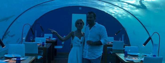 Ithaa Undersea Restaurant is one of Crazy Places.