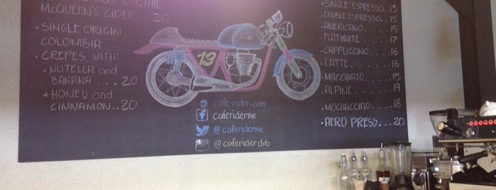 Cafe Rider Custom Motorcycles is one of Dubai.