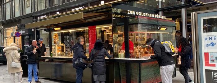 Zum Goldenen Würstel is one of Hot Dogs.
