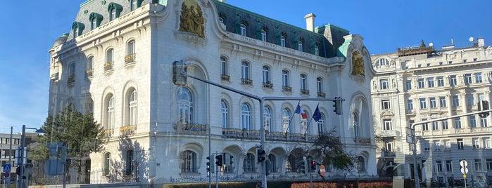 Französische Botschaft is one of Vienna sights.