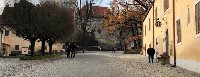 Zámecká věž is one of Cesky Krumlov.