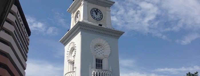 Queen Victoria Memorial Clock Tower is one of Penang.
