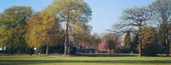 Platt Fields Park is one of Манчестер.