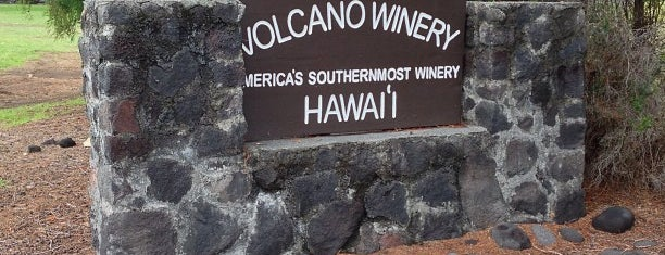 Volcano Winery is one of Hawaii.
